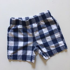 Carter's gingham shorts size 18 months